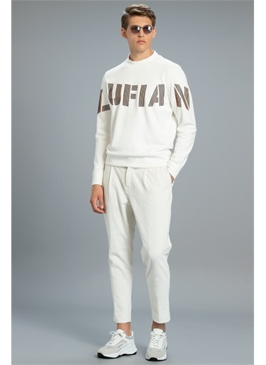 Lufian Todillo Sweatshirt   Beyaz